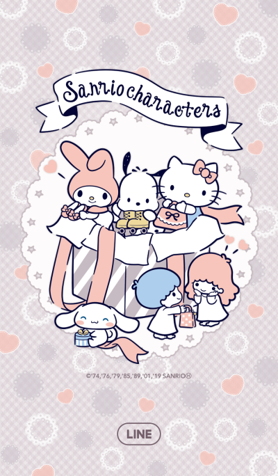 SANRIO CHARACTERS (Shopping)