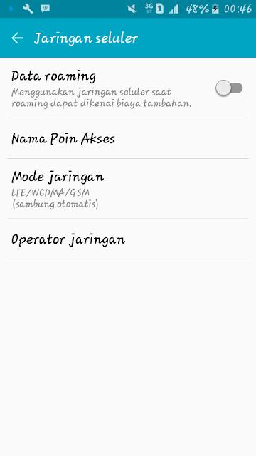 APN Indosat ooredoo 4g