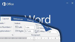 mengatur batas ketikan kiri dan kanan Word 2016