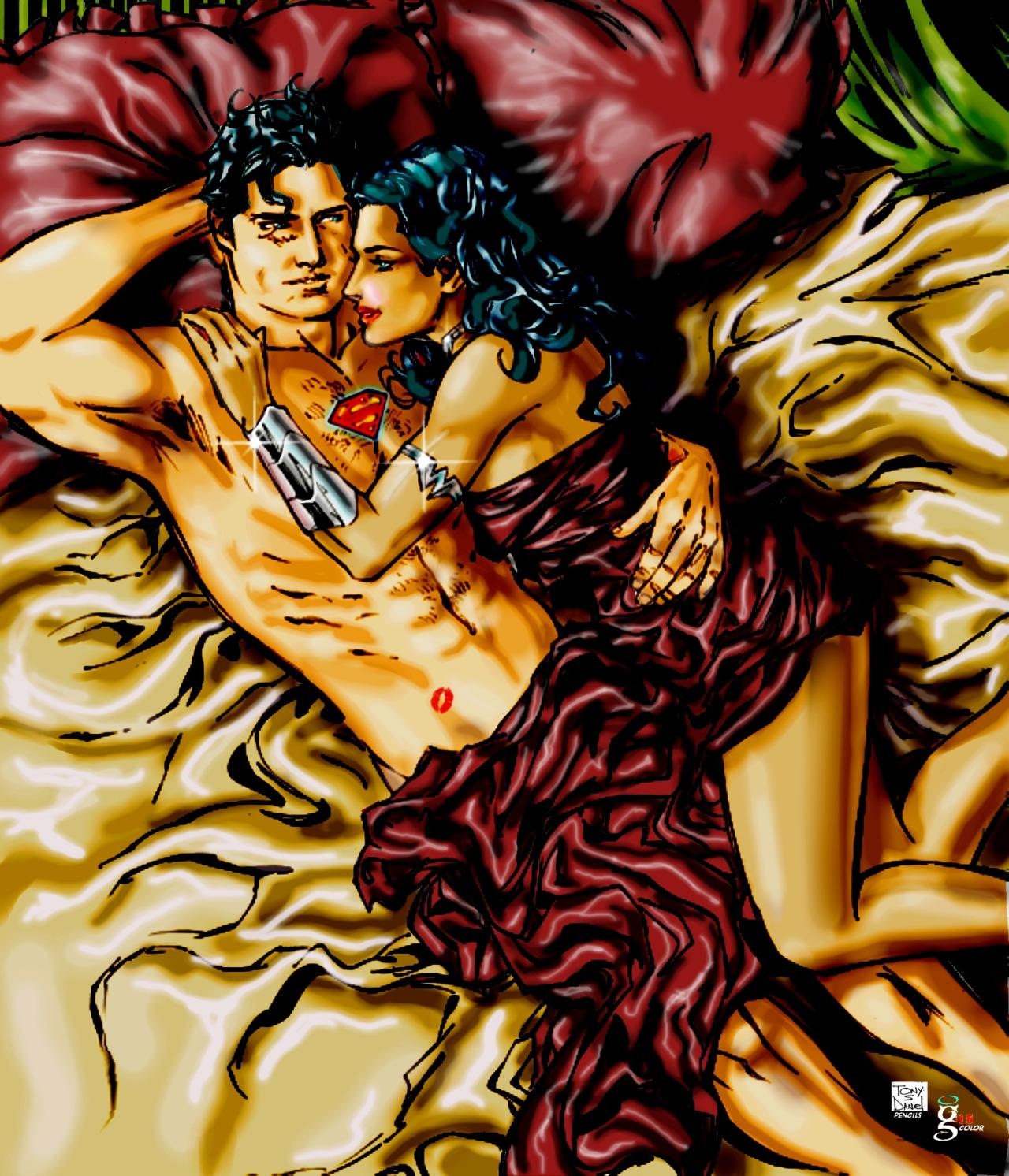 Superman And Wonder Woman Romance