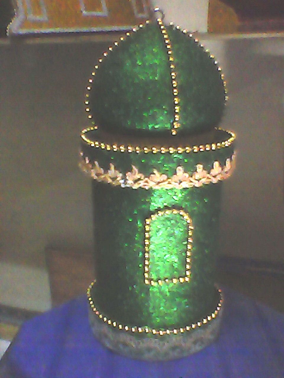 Miniatur Masjid Dari Styrofoam : miniatur, masjid, styrofoam, Aksesoris, Fitri, Natal:, Menara, Kubah, Masjid
