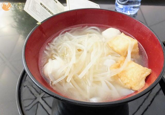 ザヌードルバー魚介肉団子麺 The noodle bar fishball noodle