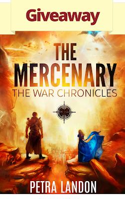 Petra Landon, giveaway, The Mercenary