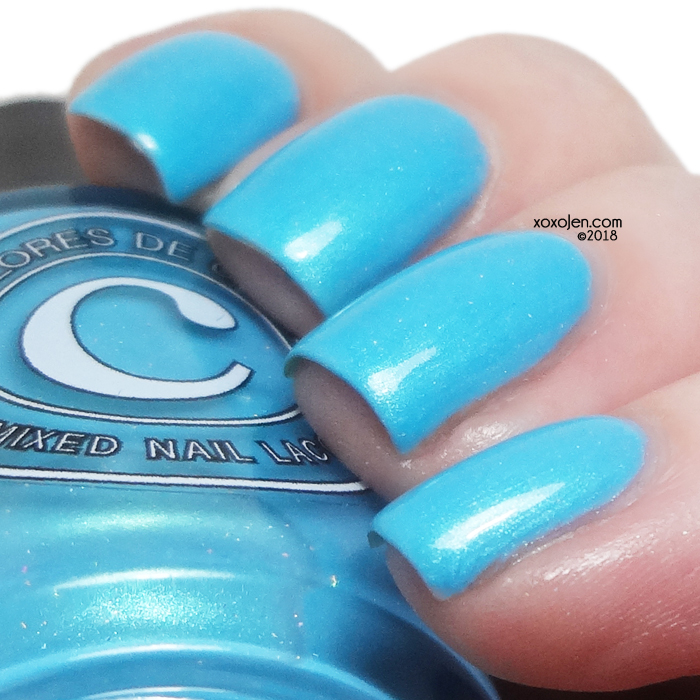 xoxoJen's swatch of Colores de Carol Ice Queen