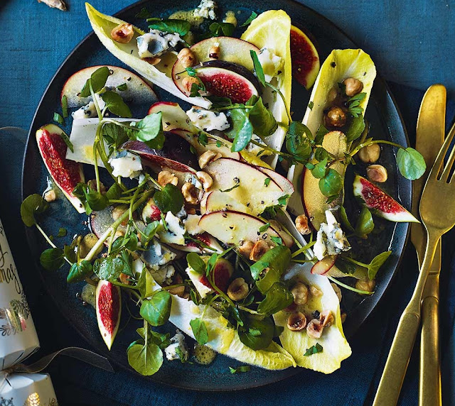 Fig And Blue Cheese Salad Recipe
