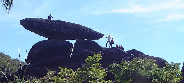 Pontos turísticos de Poços de Caldas, Pedra Balão