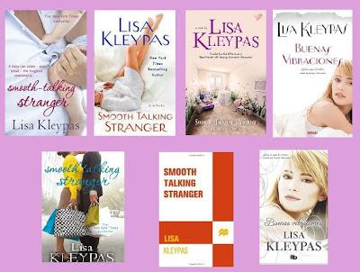 portadas de la novela romántica contemporánea Buenas vibraciones, de Lisa Kleypas