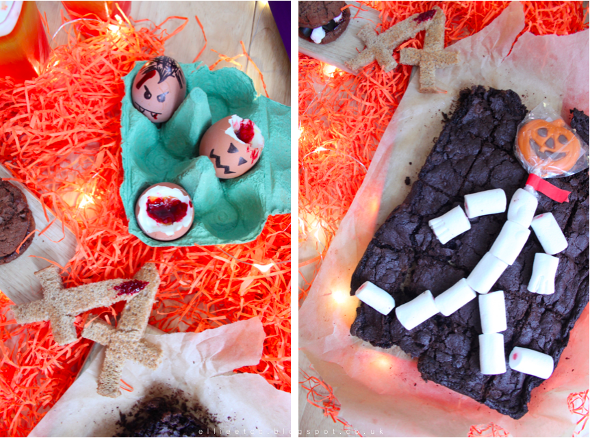 food, recipe, halloween, smores, brownies, jelly, treats, the co-op, the co-operative, sponsored, collaboration,