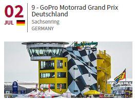 Jadwal MotoGP Sachsenring Jerman