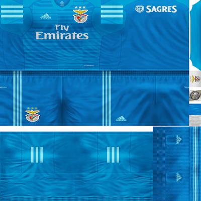 PES 6 Kits S.L. Benfica Season 2018/2019 by FacaA/Ngel