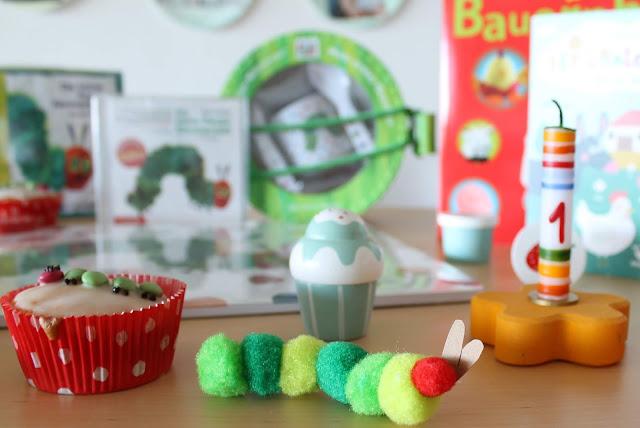 Geschenkideen zum 1. Geburtstag Raupe Nimmersatt DIY  Jules kleines Freudenhaus