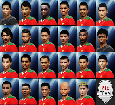 REAL FACE TIMNAS INDONESIA PTE 5.1 By guefajri
