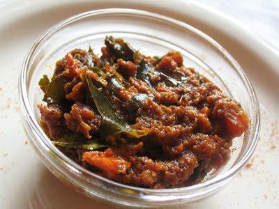 tomato spicy chutney