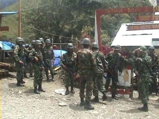 Aparat Kuasai Pos TNI di Mbua yang Diserang Kelompok Bersenjata