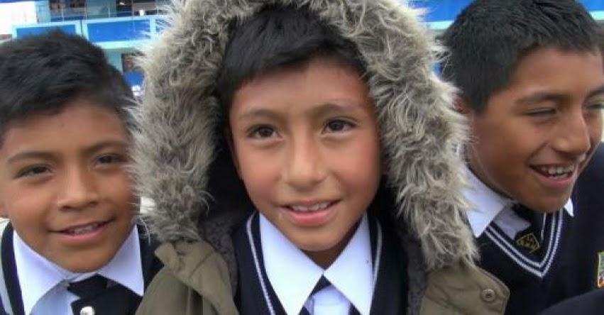 DRE Junín retrasa horario de ingreso a colegios por temporada de heladas de mayo a setiembre