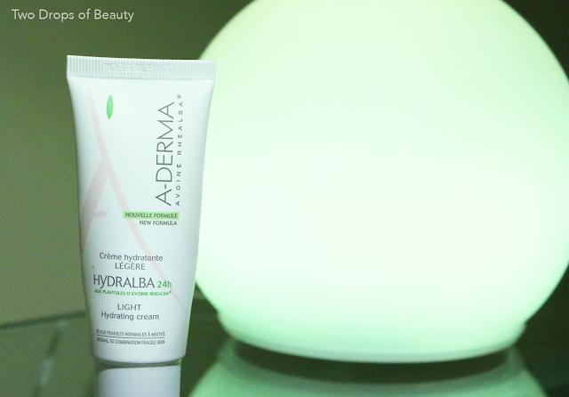 крем для лица, для нормальной и смешанной кожи, a-derma, hydralba