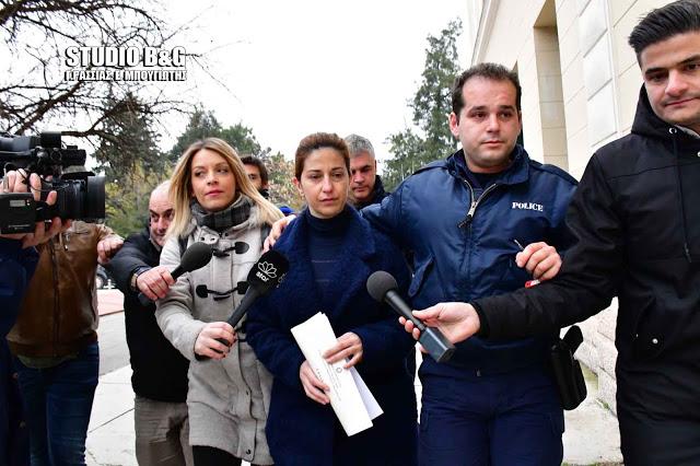 Ένοχη και οπό το εφετείο Ναυπλίου η Δ. Βούλγαρη για την δολοφονία του Θ. Λάμπρου στην Κοιλάδα Αργολίδας (βίντεο)
