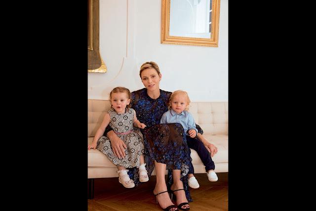 Princess Charlene's Aurora dress by Preen on Ebay