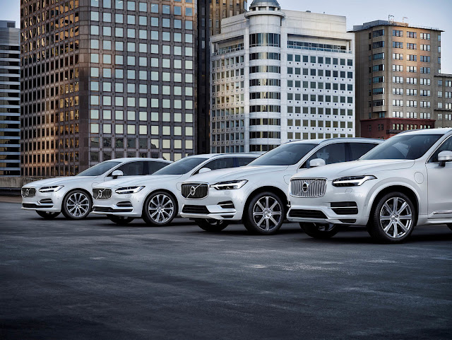 Volvo promises that half of the cars sold in 2025 will be electric cars