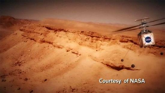 Helicóptero marciano - 'Marscopter' da NASA - Img 1