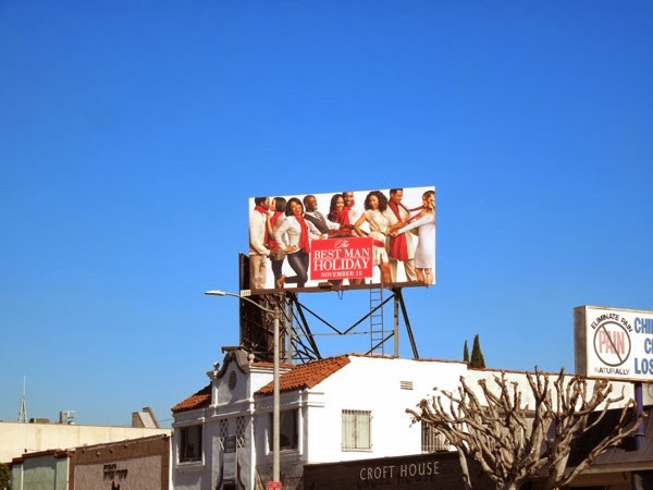 Best Man Holiday billboard