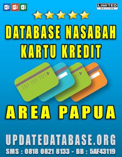 Jual Database Nasabah Kartu Kredit Papua