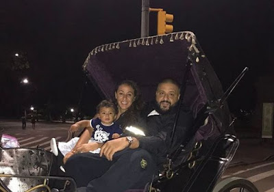 Dj Khaled,Wife And Son