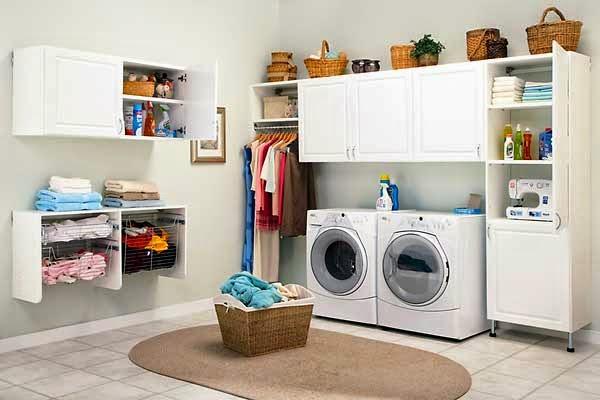 Ideas de decoración de lavanderías   colores en casa