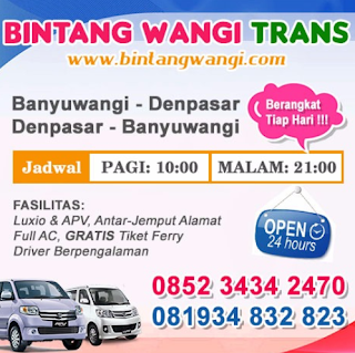 Jadwal Travel Surabaya Banyuwangi