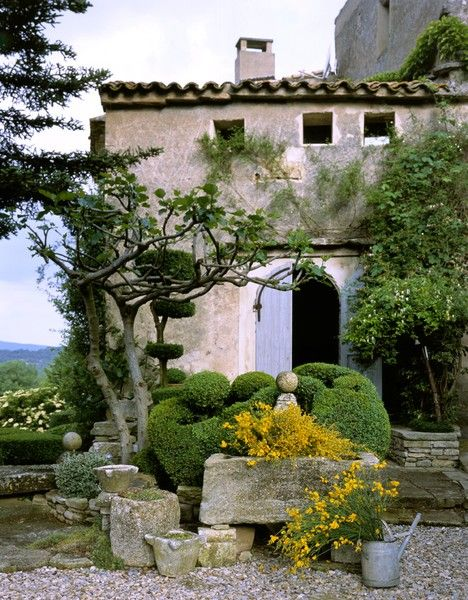 Mediterranean landscaping