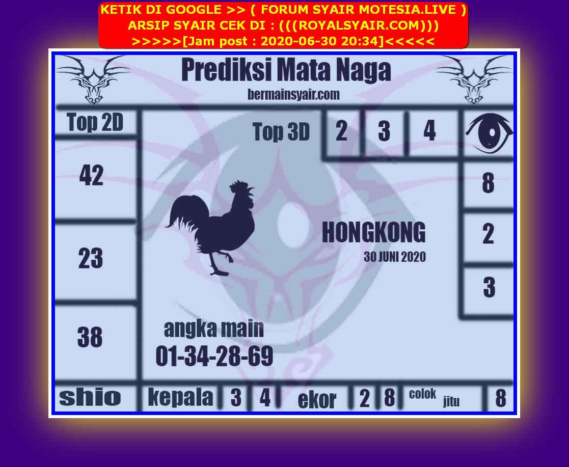Kode syair Hongkong Selasa 30 Juni 2020 136