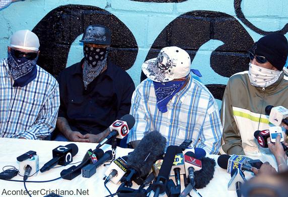 Pandillas juveniles Mara Salvatrucha pide perdón a Dios