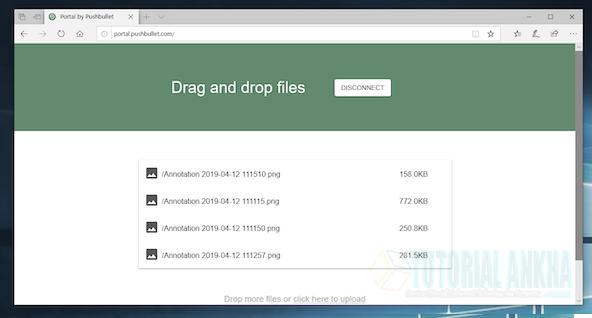 Mentransfer Data Dari PC atau Laptop ke Ponsel Android dengan Wifi portal