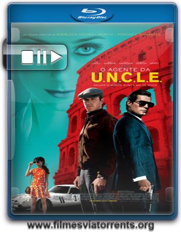 O Agente da U.N.C.L.E. Torrent - BluRay Rip 720p Dual Áudio (2015)