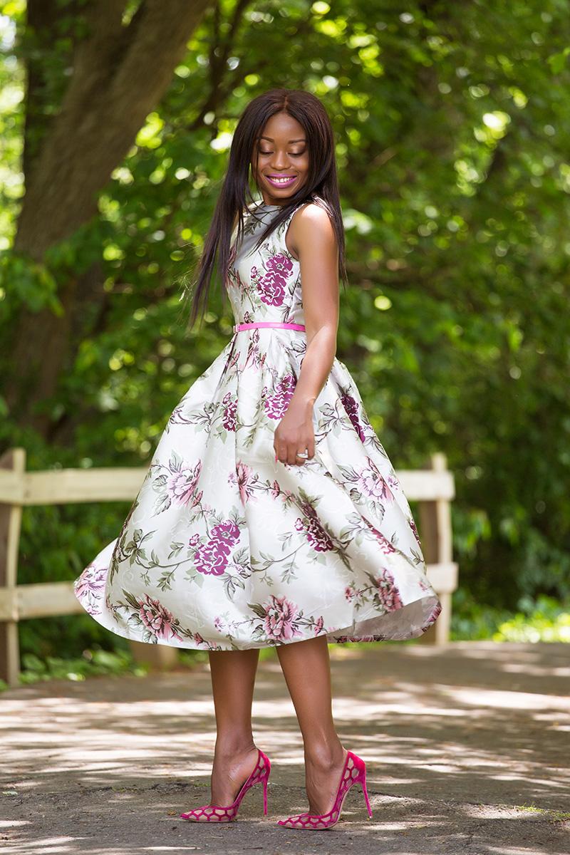 1d87b8d0285d Chicwish my secret garden floral dress