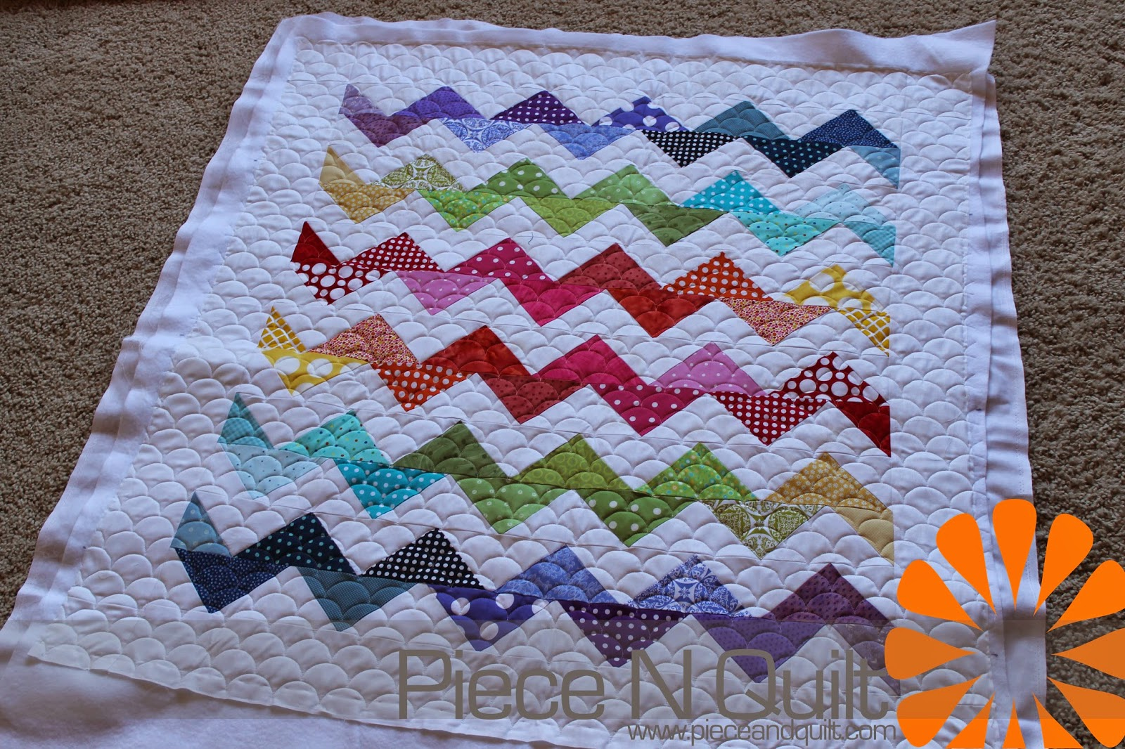 Piece N Quilt Machine Quilting Clams Edge To Edge
