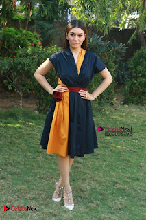 Actress Hansika Motwani Latest Pos at Bogan Movie Press Meet  0059.jpg