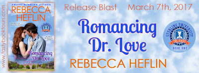 Release Blast & Giveaway: Romancing Dr. Love by Rebecca Heflin