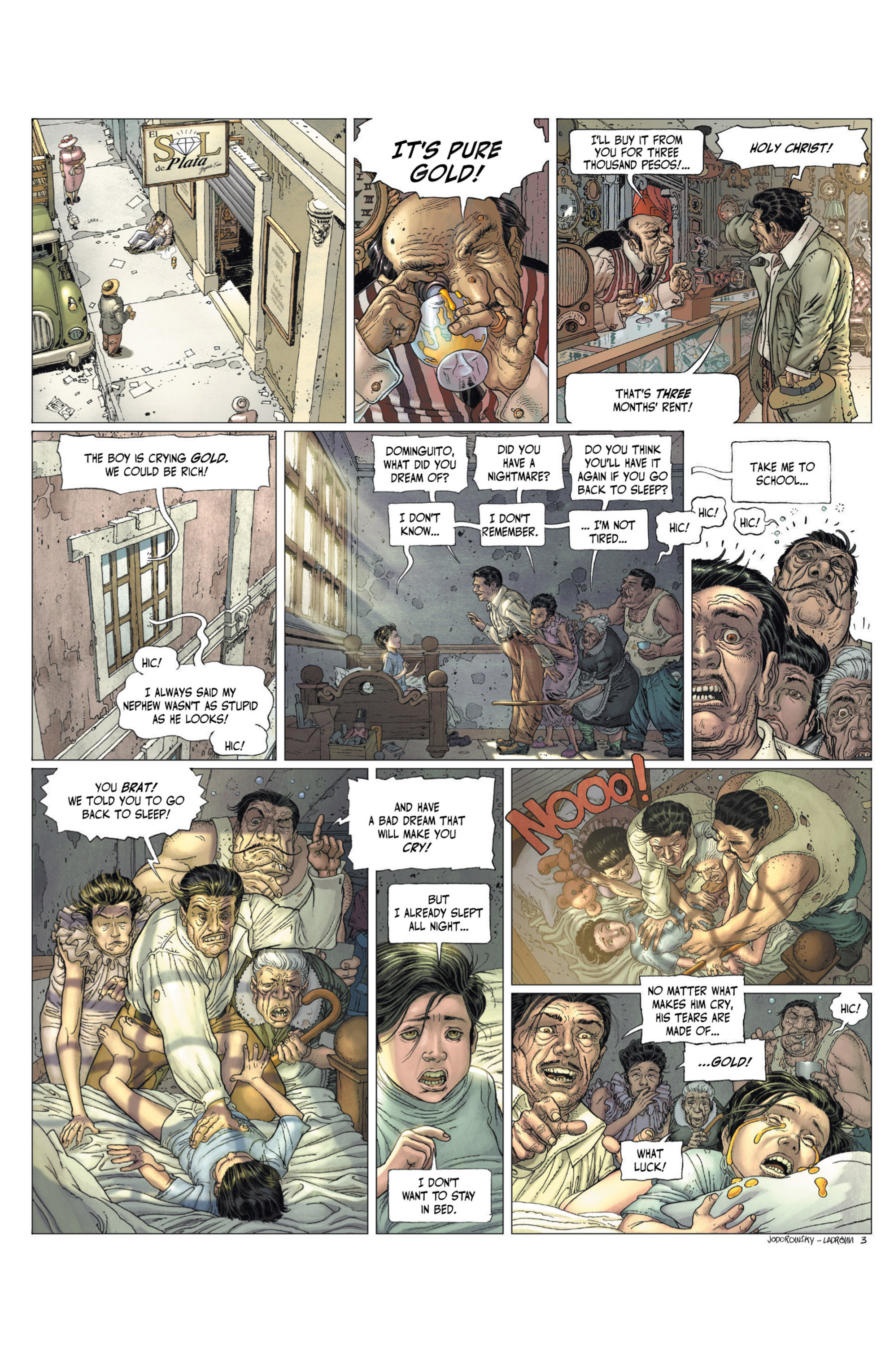 Read online Alejandro Jodorowsky's Screaming Planet comic -  Issue #2 - 64