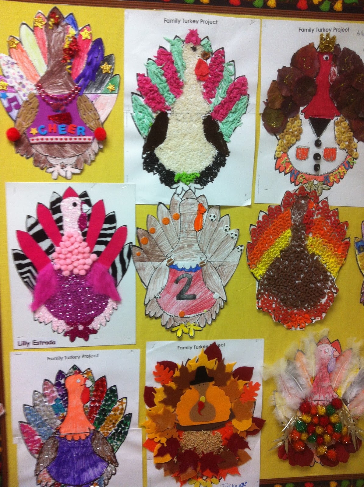 Hoo Ray For 2nd Grade Turkeys Thanksgiving And