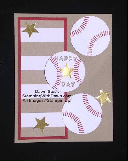 Baseball Card Ideas Stampin Up Year Of Clean Water