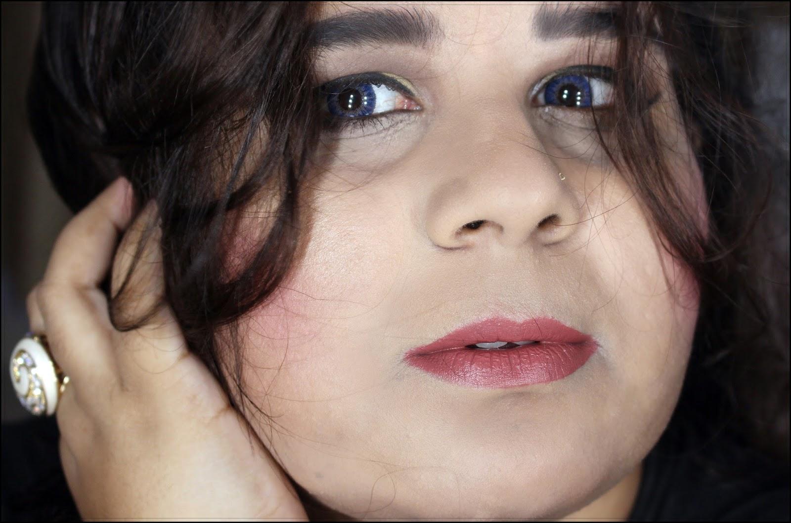 Easy Everyday Glam Makeup Look   Sana's Ramblings