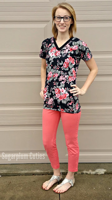 Sugarplum Cuties: Boyfriend V-Neck