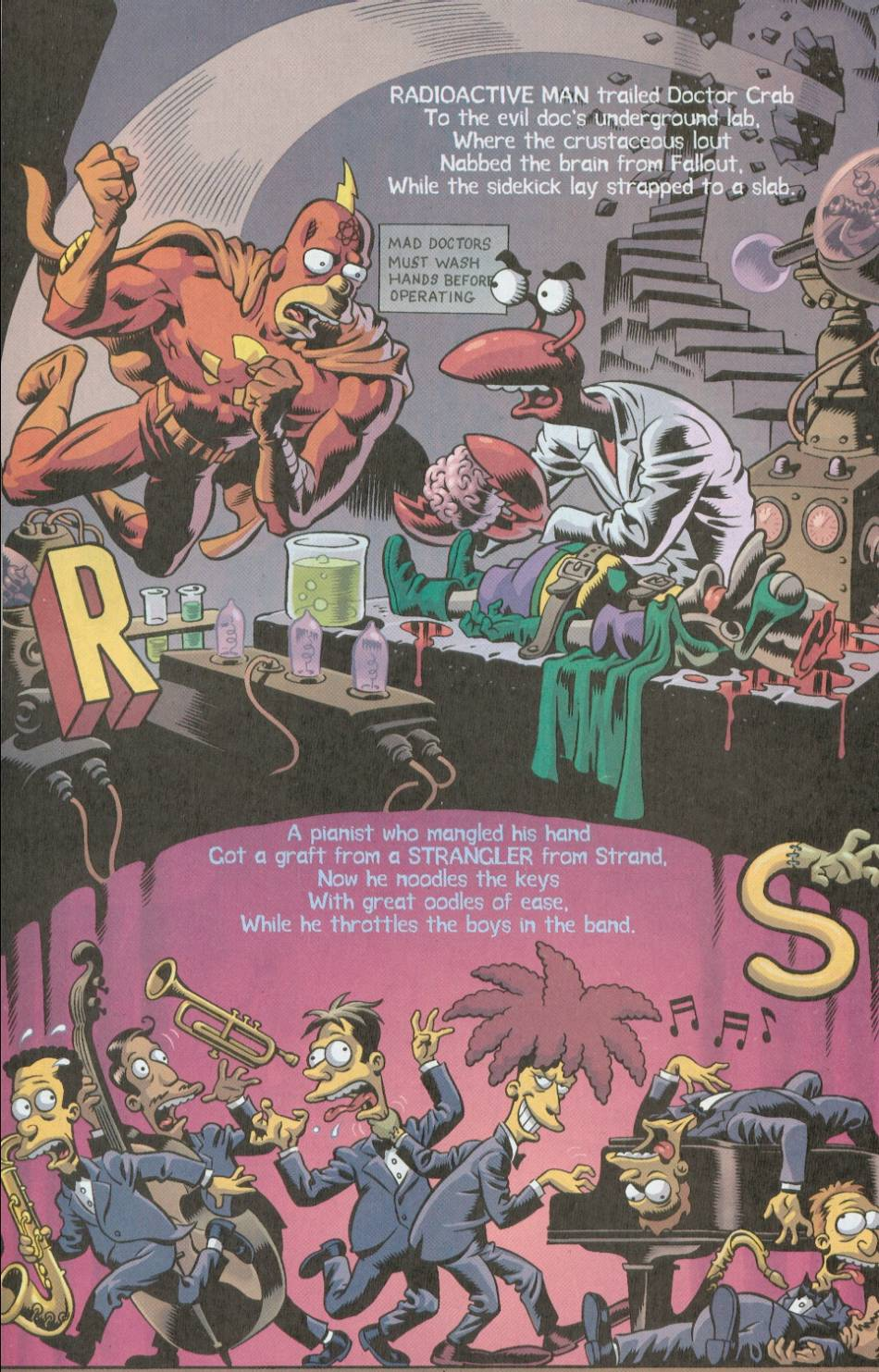 Read online Treehouse of Horror comic -  Issue #8 - 41