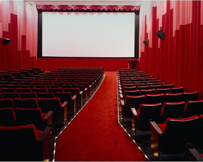 picture of empty movie theater