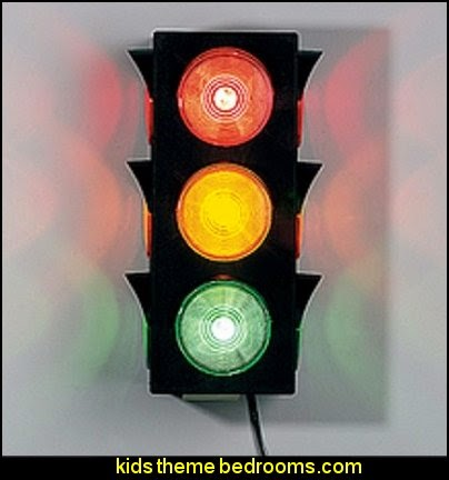 Blinking Traffic Light
