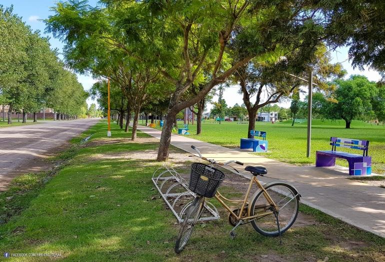 Paseo Parque de la Ciudad, San Carlos