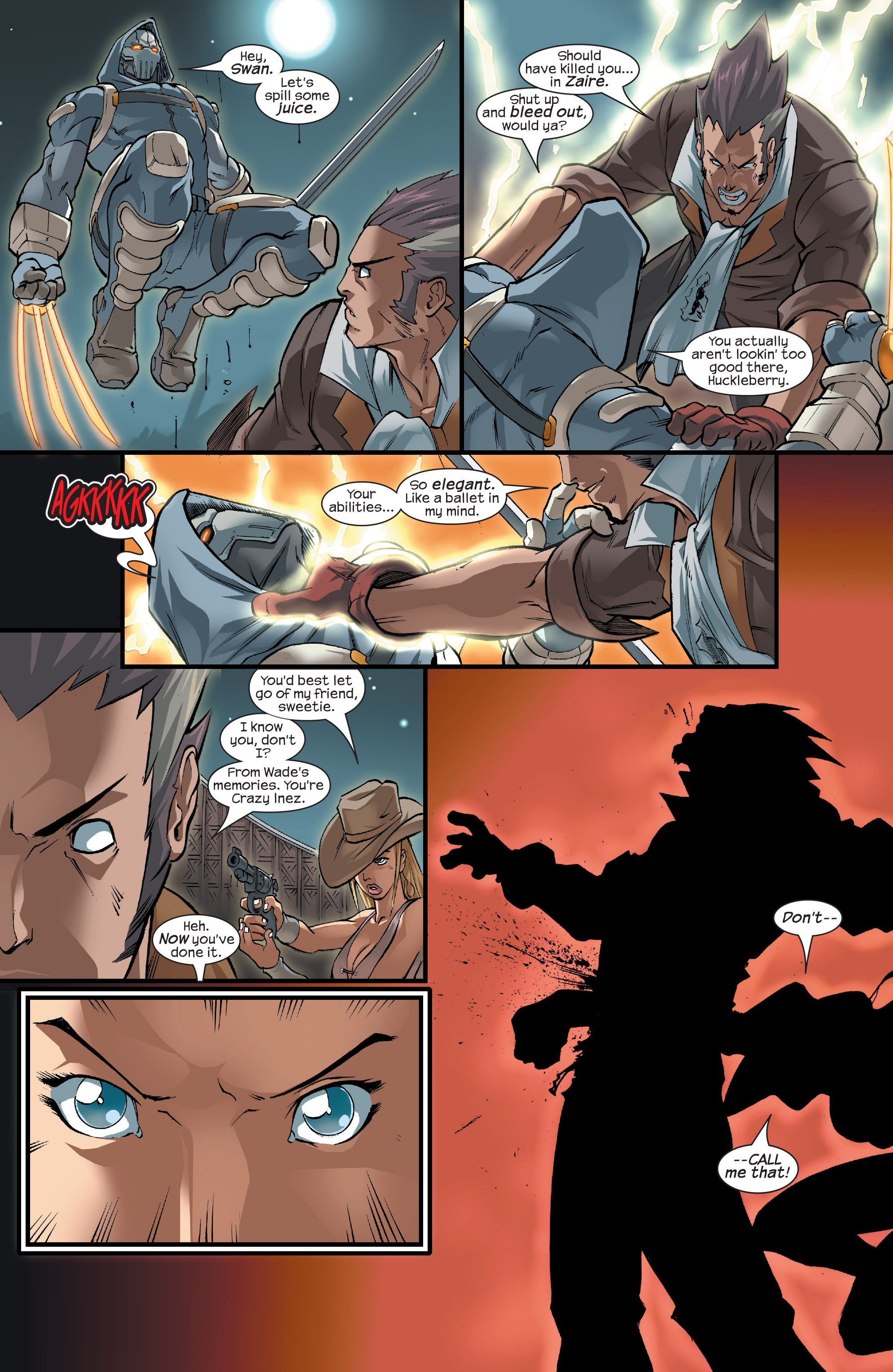 Read online Agent X comic -  Issue #15 - 17
