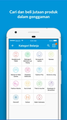 aplikasi jual beli online terpercaya di android blibli