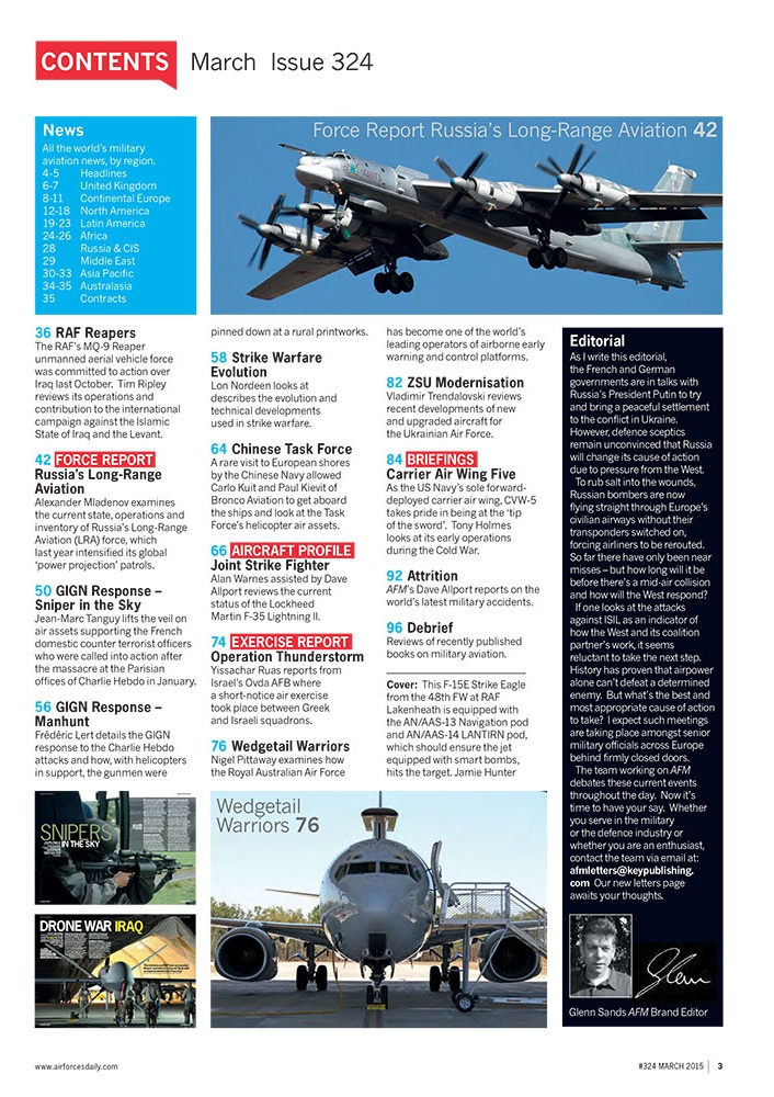 AirForces Monthly March 2015